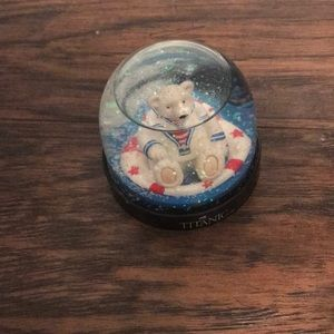 Titanic Snow Globe
